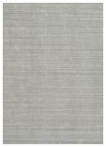 10x14 Gray Area Rug Modern Home Decor Rug Wool Soft New Hand Knotted Rug