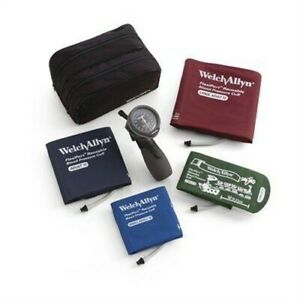 Welch Allyn Tr 1 Hand Aneroid Family Practice Blood Pressure Kit model 5098 30