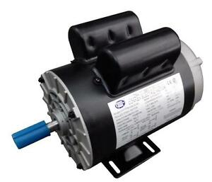 Cem Compressor Duty Ac Motor 3hp 3600rpm 56 Frame Removable Feet 1 Phase Ccw