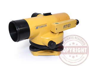 Topcon At g1 Precision Automatic Level Surveying sokkia leica zeiss wild auto