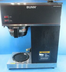 Bunn Brewer Bunn Vpr Black 12 cup Pour Over Used