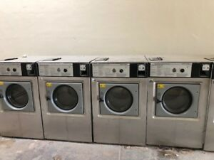 Available Ten 40lb Wascomat W125 Three Phase Washer For 500 Each