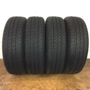 4 Full Tread Continental Procontact Tx 185 65 R15 185 65 15 Tires Driven Once