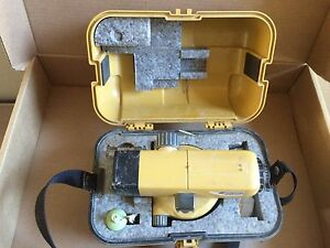 Topcon At b4 Automatic 24x Auto Level Surveying Used Ships Same Day