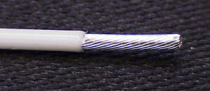 10 Awg 37 Strand Type ee Teflon Wire M22759 9 Silver Plate Mil spec 100 Foot