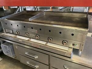 Vulcan Msa60 60 Natural Gas Thermostat Griddle
