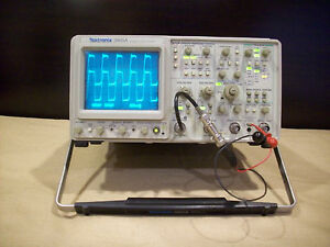 tektronix 2465a Oscilloscope 4 Channel 350mhz Scope Tested No Digital Noise Wry