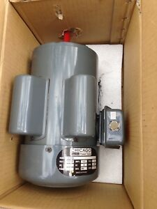 Chicago Air Compressor duty electric Motor 1 1 2 Hp 230 V 1720 Rpm