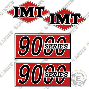 Imt Truck Crane 9000 Series Decal Kit