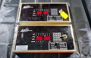 Lathem Ltr4 384 Master Time Clock System X2 free Shipping