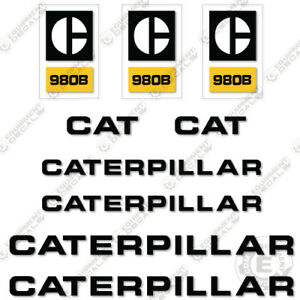 Caterpillar 980 b Decal Kit Wheel Loader Equipment Decals 1970s Style