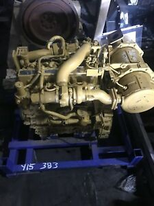 Caterpillar C3 3b Dit Engine From Cat Skid Steer Loader Complete Motor