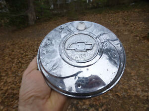 1933 1934 1935 1936 Chevrolet Chevy Spare Tire Locking Hubcap 6 5 8 No Key
