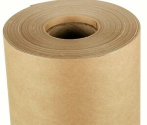 Brown Kraft Laminating Wax Release Non stick Surface Paper Roll 51 X 450