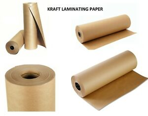 Kraft Affordable Laminatiion Paper Roll Non stick To Graphic 54 In X 450 Ft