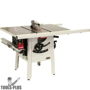 Jet 725000k Proshop Ii Table Saw 115v 30 Rip Cast Wings New