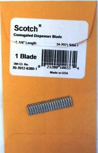 3m Replacement Blade 1 1 4 In Scotch H120 H10 H133 Hda M707 P51 3 Each