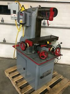 Hardinge Tm Horizontal Vertical Milling Machine Vfd 1ph Power Feed 6 x24 5c