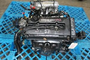 Jdm B16a Honda Civic Sir Del Sol Cr x Da6 Obd0 1 6l Dohc Vtec Long Block Only