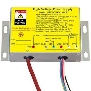 High Voltage Power Supply Dc dc Conversion Ahv24v8kv1maw High Precision