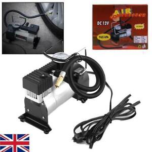 Heavy Duty Portable 12v Electric Tyre Inflator 150psi Air Compressor Pump