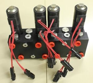 4 Spool Electric Over Hydraulic Valve