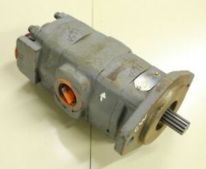 Commercial Intertech 326 9121 007 Tandem Hydraulic Pump
