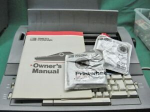 Smith Corona Sd700 Portable Electric Typewriter Manual Extras Guaranteed