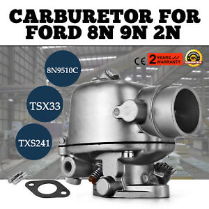 New 8n9510c Marvel Carburetor Carb Assembly For Ford Tractor 2n 8n 9n Usa