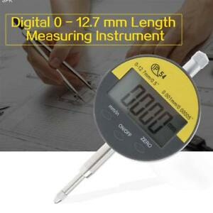 0 001mm 0 00005 Range 0 12 7mm Gauge Digital Dial Indicator Precision Tool