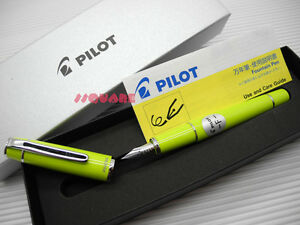tracking No Pilot Fpr 3sr Prera Medium Nib Fountain Pen Lime Green