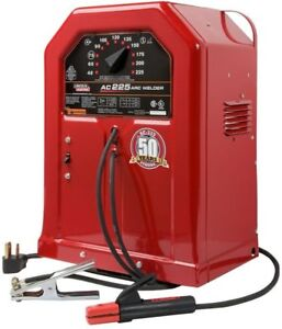 225 amp Home Electric Power Tool Smooth Ac Uniform Arc Stick Welding Machine Red