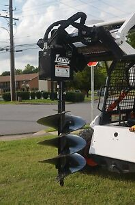 Bobcat Skid Steer Attachment Lowe 750 Hex Auger With 24 Bit Ship 199