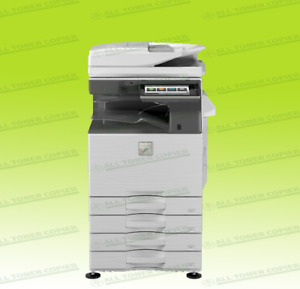 Sharp Mx 3070n Laser Color Bw Print Scan Copy 4 Trays A3 Mfp 30ppm 3570n 4070n