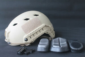 US TACTICAL LIGHTWEIGHT OPS-CORE FAST BASE JUMP MILITARY HELMET Sand