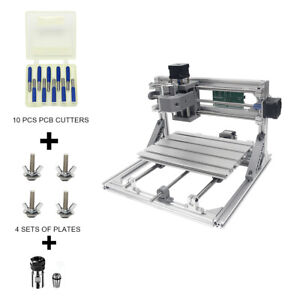 Diy Cnc Router Kits 2418 Wood Carving Milling Engraving Machine With Er11