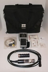 Ysi 556 Handheld Multiparameter Instrument Water Quality Meter W 5563 4 Cable Do