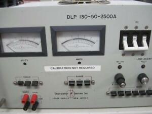 Transistor devices dynaload model dlp 130 50 2500a electrical load tester