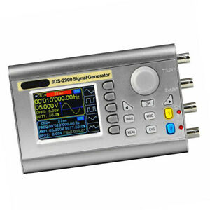 Dual Channel Dds Function Signal Generator Sine Square Wave Counter 15mhz
