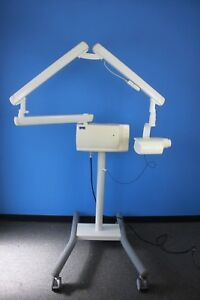 Sirona Planmeca Intra Dental X ray On Rolling Stand With Pro Sensor