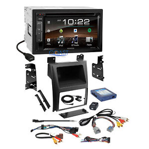 Kenwood Bluetooth Sirius Stereo Dash Kit Bose Harness For 07 Cadillac Escalade