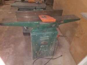 6 Grizzly Jointer 1hp 110 220 V 2001 with Cabinet Stand