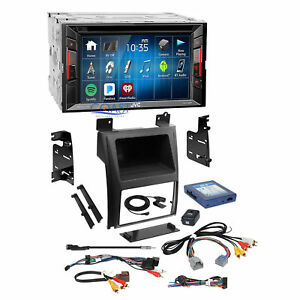 Jvc Dvd Usb Bluetooth Stereo Dash Kit Bose Harness For 07 14 Cadillac Escalade