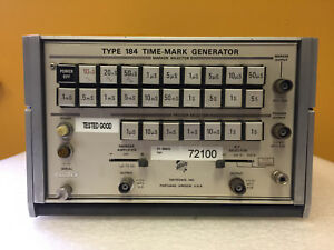Tektronix 184 100ns To 5s Marker Output 10 Mhz Time Mark Generator Tested