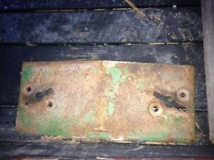 John Deere 3020 4020 3010 4010 Tractor Jd Front Pad Slab Weight Weights