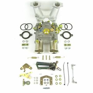 Weber 45dcoe Carburettor Manifold Kit Bmc A series Engine mini