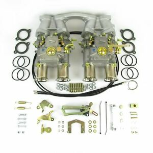 Twin Weber 45 Dcoe Carburettor Kit For Volvo B18 b20 Engine