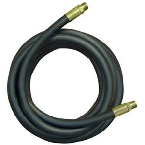 2 wire Hydraulic Hose Male X Male Assembly High Standard 3 4 X 36 Black