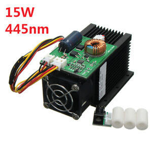 15w 15000mw High power Laser Engraving Laser Module Blue Light 450nm Laser Head