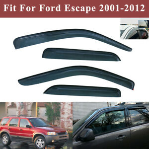 Vent Window Visor Shade Shades Visors Rain Guards For Ford Escape 2001 2011 2012